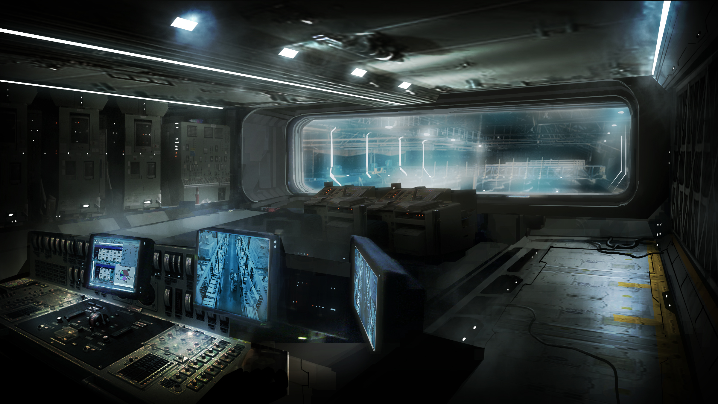 Concept Art Aliens Colonial Marines Last Minute Continue