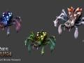 Heroes Of Ruin - Elder Forest Spiders