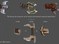 Heroes Of Ruin - Weapons - Savage Weapons #2