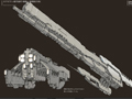 Infinite Space - Concept Art - Spaceships #3