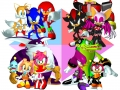 Sonic Heroes - Grouping - All Teams