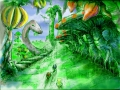 Sonic Heroes - Level Concept - Lost Jungle(?)