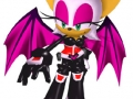 Sonic Heroes - Rouge (Early Render Version)