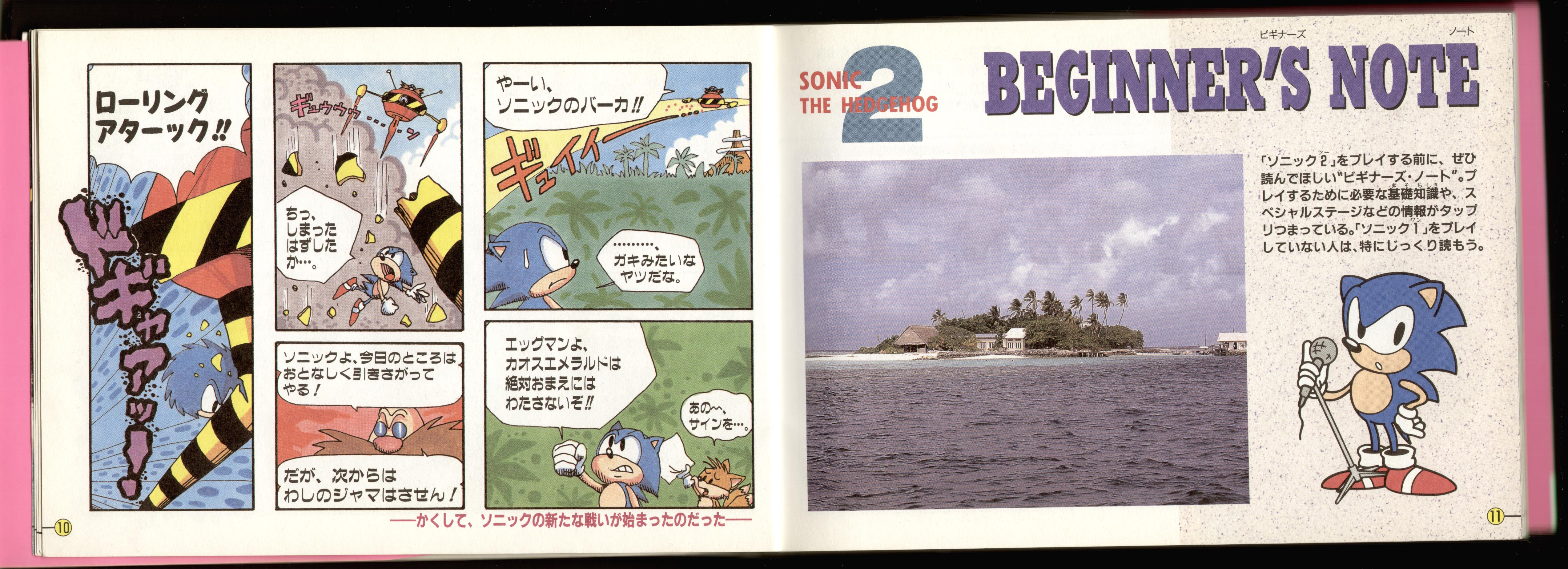 Sonic 2 Manual Art - Pg 04