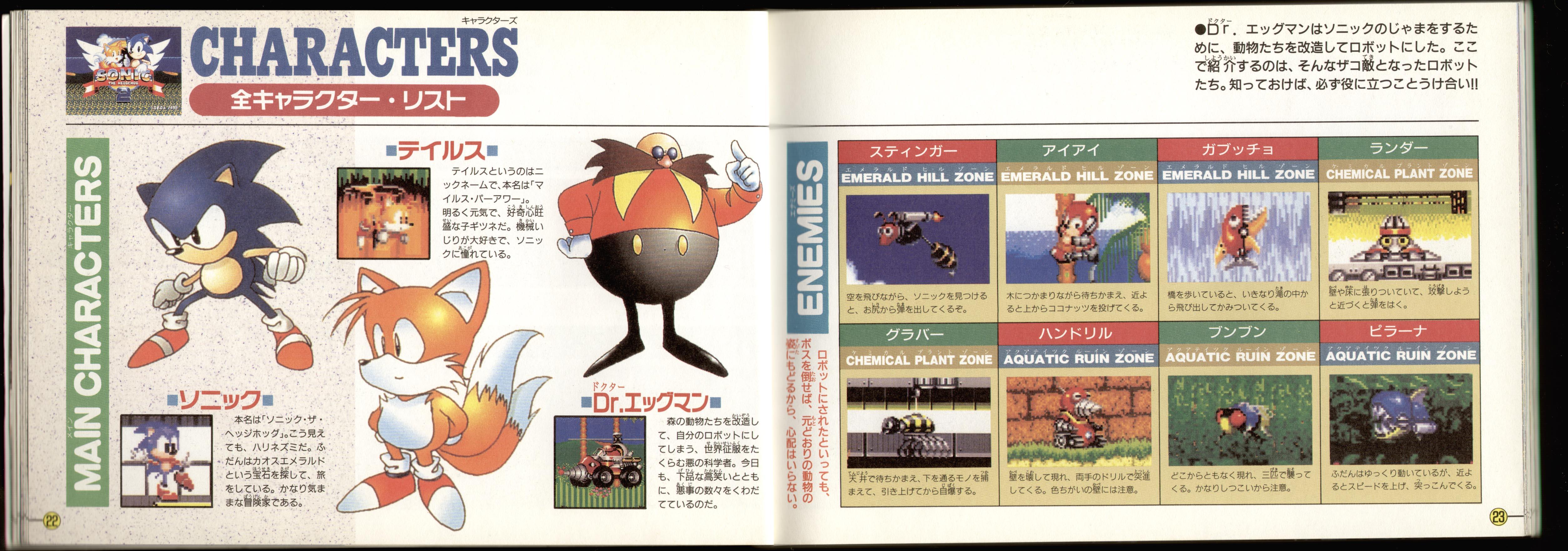 Sonic 2 Manual Art - Pg 11
