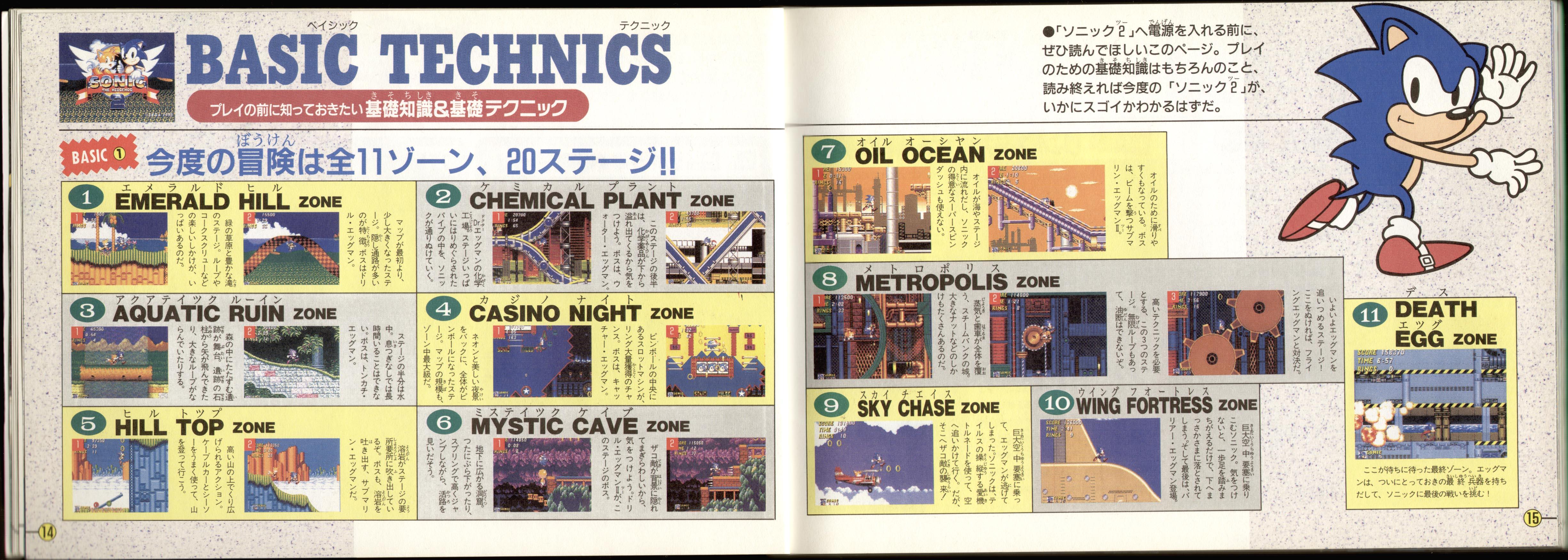 Sonic 2 Manual Art - Pg 12