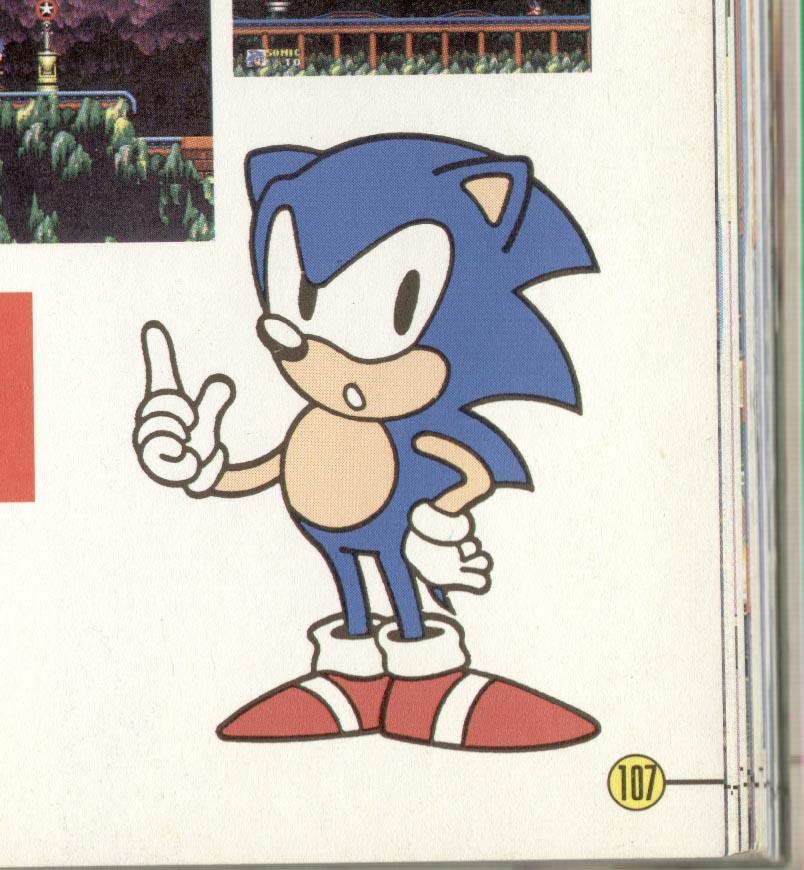 Sonic 2 Manual Art - Pg 18