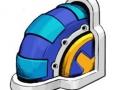 Sonic The Hedgehog 4 - Marble Garden Wheel