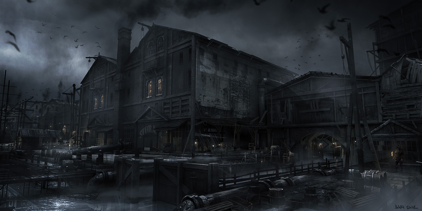 Elimination Chamber 2010 Concept Art – Thief ...