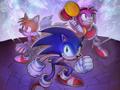 Sonic Chronicles: The Dark Brotherhood - Key Art #1