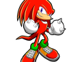 Sonic Chronicles - Knuckles (Signature Art)