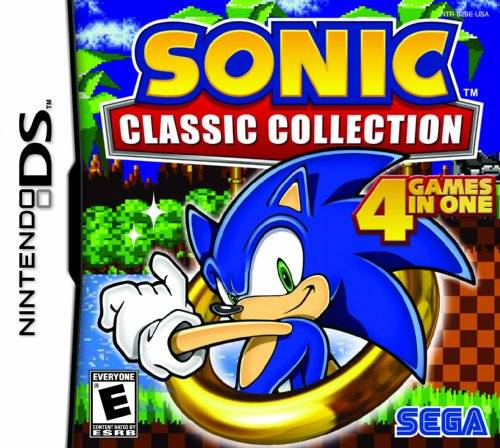 Sonic Classic Collection - US Packshot