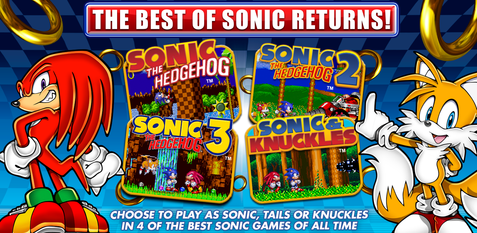 Sonic Classic Collection - Collectors Edition (Rear)