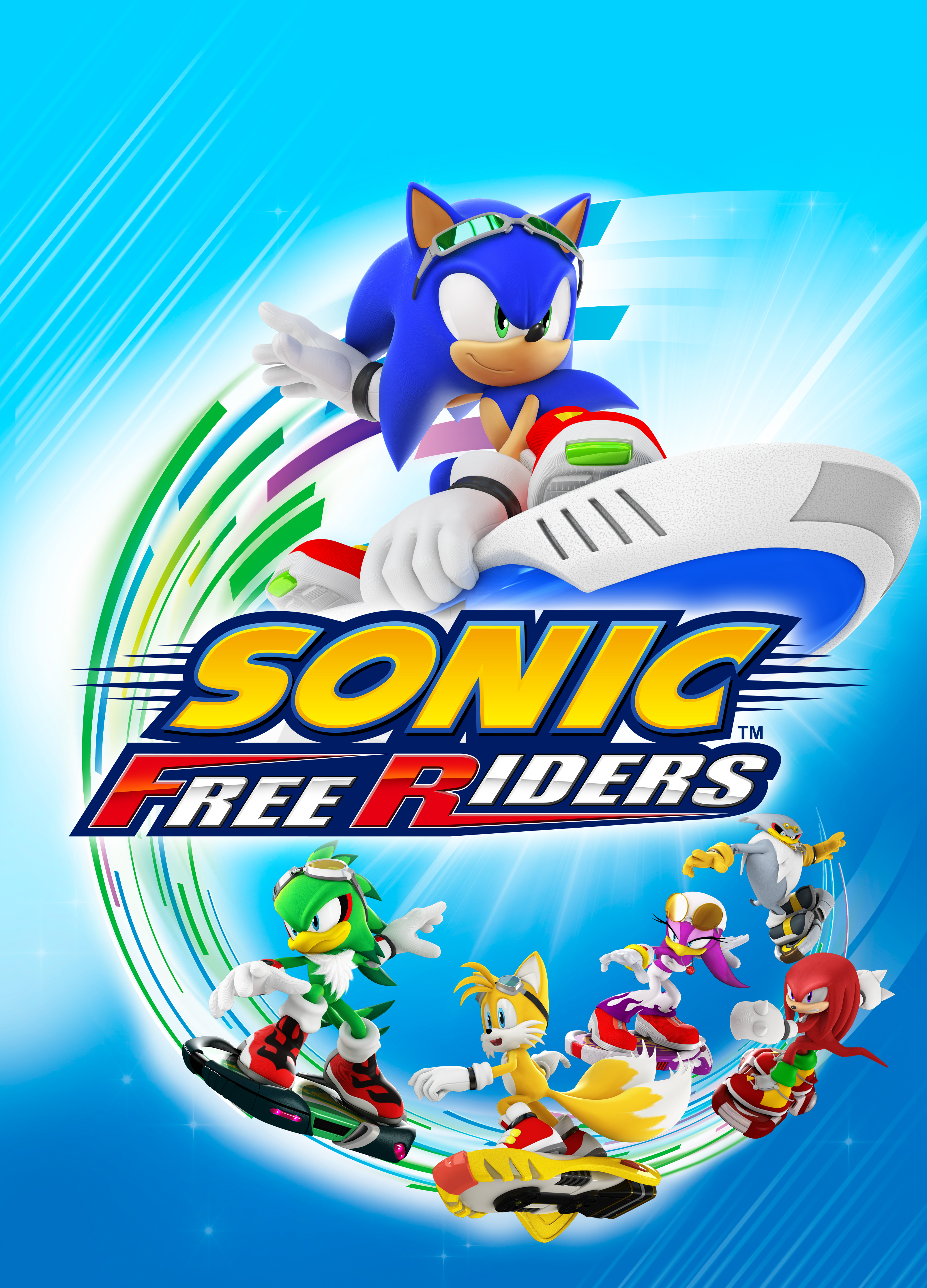 Win A Free Iphone 6 >> Official Art – Sonic Free Riders | Last Minute Continue