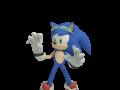 Sonic - Dialogue Pose: Afraid