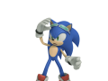 Sonic - Dialogue Pose: Confused