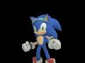 Sonic - Dialogue Pose: Ready