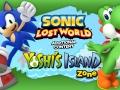 Sonic Lost World - Yoshi's Island DLC - Keyart 1