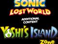 Sonic Lost World - Yoshi's Island DLC - Logo