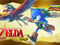 Sonic Lost World - Legend Of Zelda DLC - Keyart