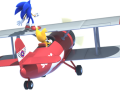 Sonic Lost World - Sonic & Tails in the Tornado
