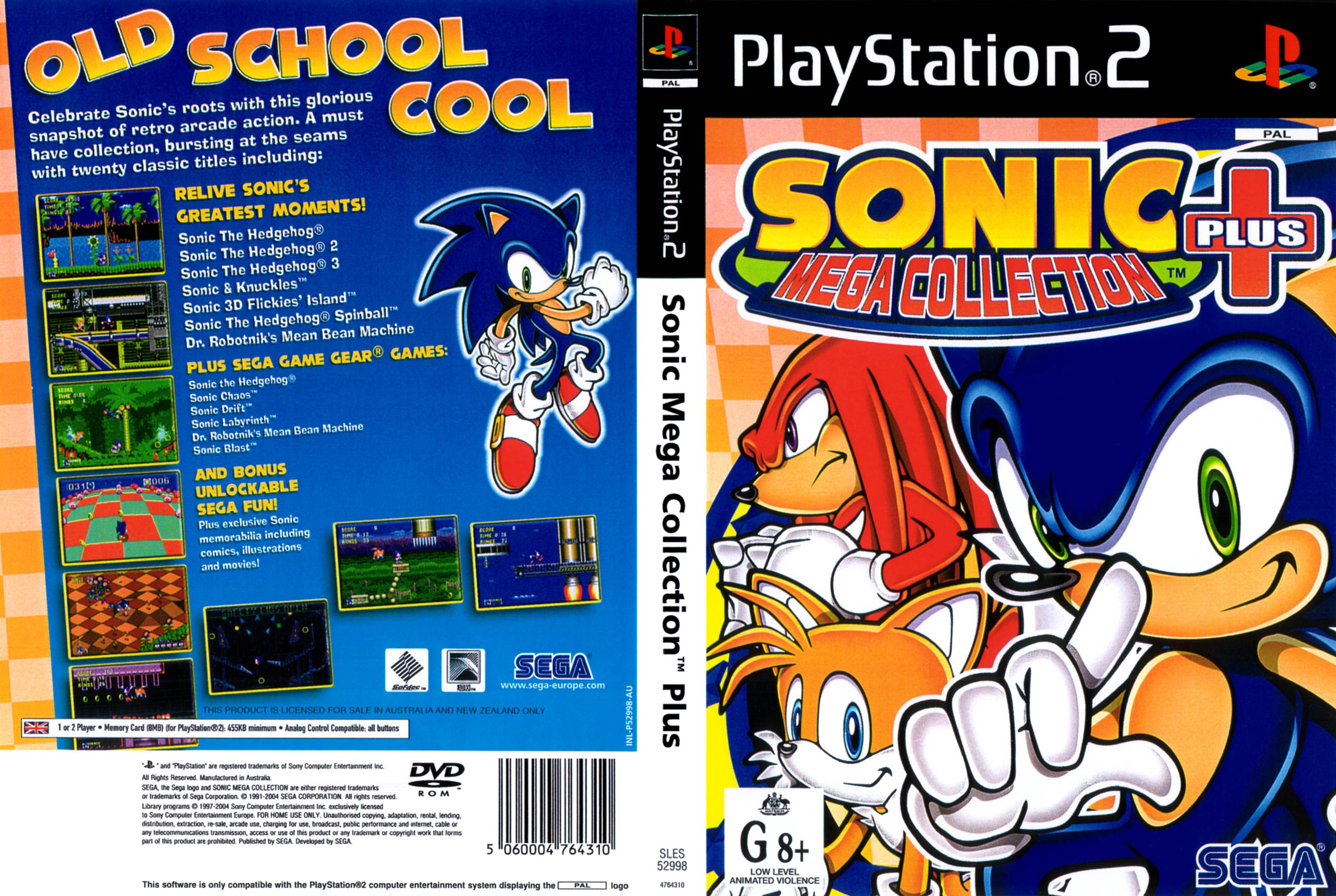 ANÁLISE: SONIC MEGA COLLECTION PLUS (PS2)