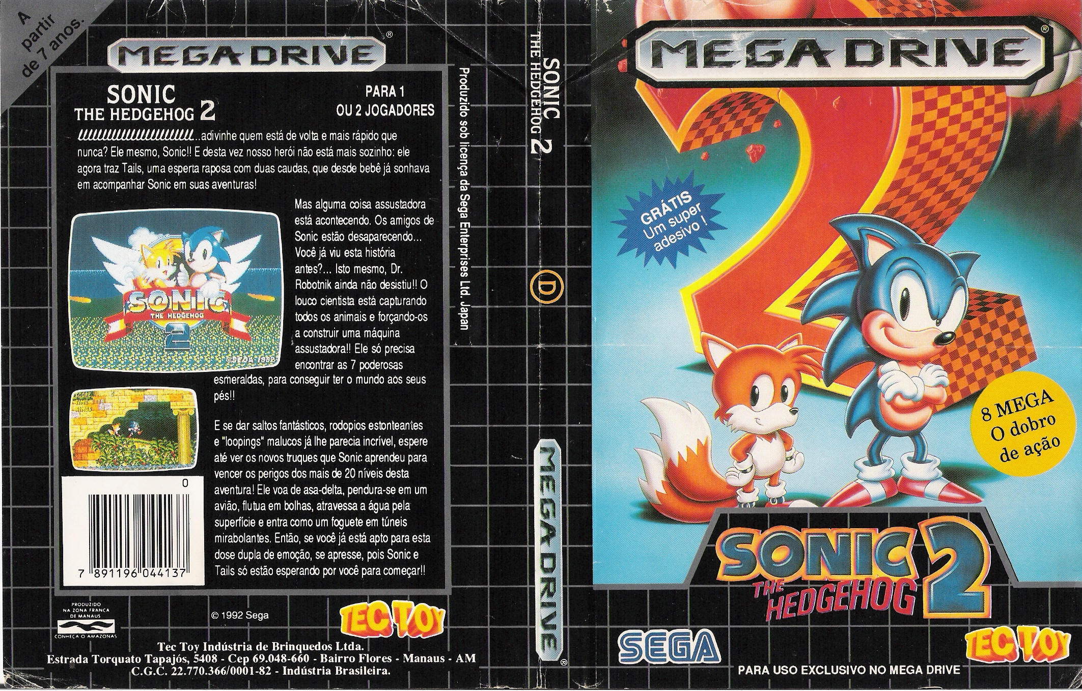 Your favorite Sonic game and why? Sonic2_md_br_cover