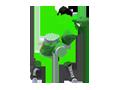 Super Smash Bros - Little Mac (Wireframe)