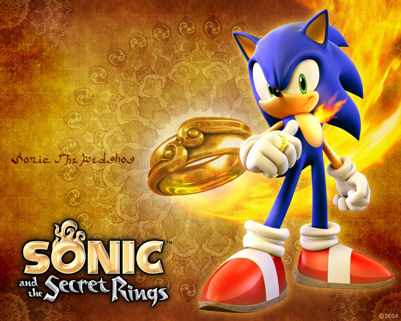 Image result for sonic and the secret rings