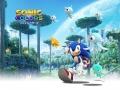 Sonic Colours / Sonic Colors - Set 2 #1 - Running Keyart (JP)