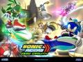 Sonic Riders: Zero Gravity - US #2 - Cast