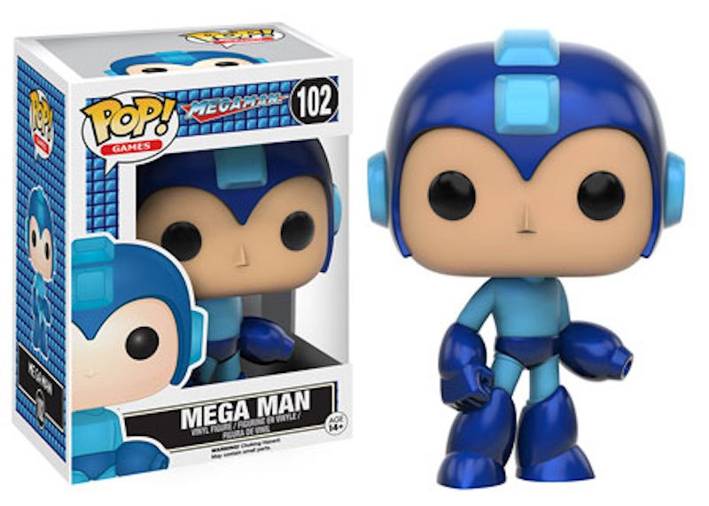 Funko-POP-Mega-Man-102-Mega-Man