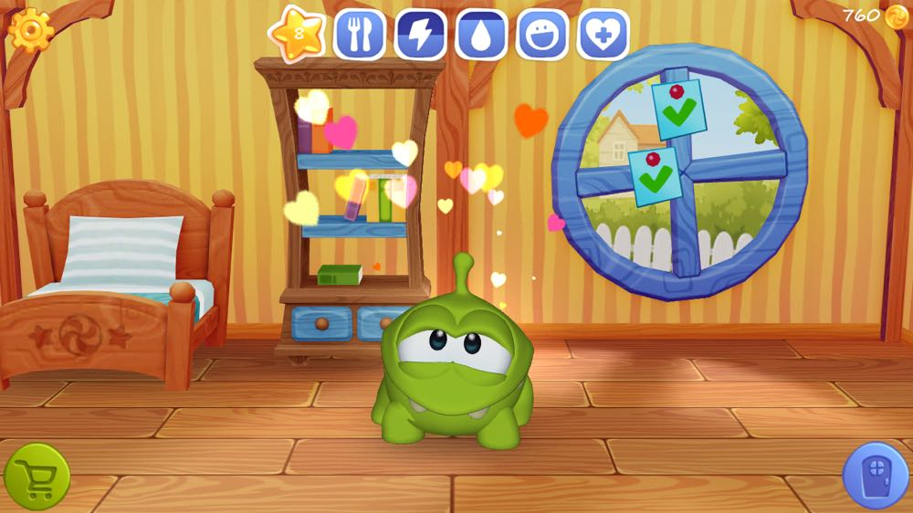 My Om Nom is available on iTunes app store