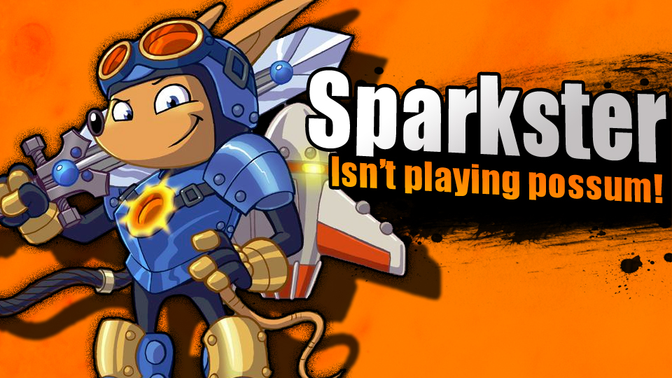 Smash Bros 4 Newcomers: Sparkster