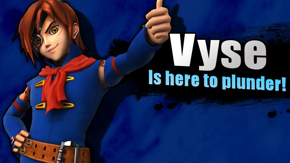 Smash Bros 4 Newcomers: Vyse
