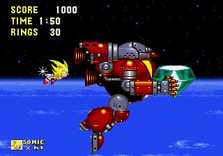 Sonic 3&K Doomsday Zone