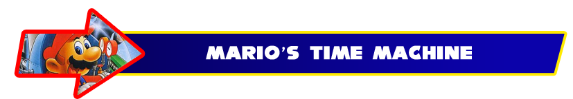 The Worst Game I Ever Played: Mario's Time Machine