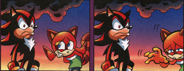 Sonic Universe #1 - Shadow and Marine