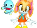 Sonic Heroes - Cream The Rabbit & Cheese (Early Render Version)