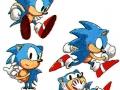 Sonic The Hedgehog - Sonic Concept Art