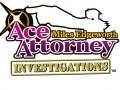 Ace Attorney Investigations: Miles Edgeworth - Logo (English)