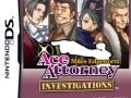 Ace Attorney Investigations: Miles Edgeworth - Packshot (Unrated)