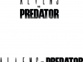 Aliens vs Predator - Logos (Monochrome)