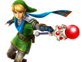 Link with Fire Rod