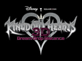 Kingdom Hearts 3D - Logo w/Black Background