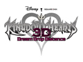 Kingdom Hearts 3D - Logo w/White Background