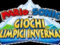 Mario & Sonic At The Olympic Winter Games - Italian Logo