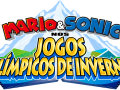 Mario & Sonic At The Olympic Winter Games - Portuguese Logo