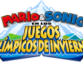 Mario & Sonic At The Olympic Winter Games - Spanish Logo