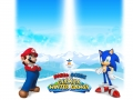 Mario & Sonic At The Olympic Winter Games - SEGA Website Page Background